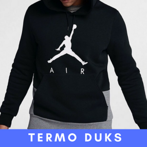 Duks Air Jordan - Crno Beli