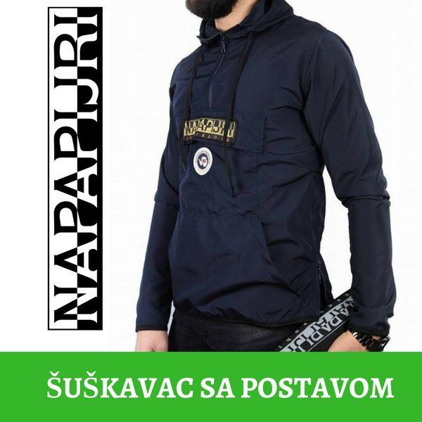 Napapijri - Šuškavac sa postavom - Crn